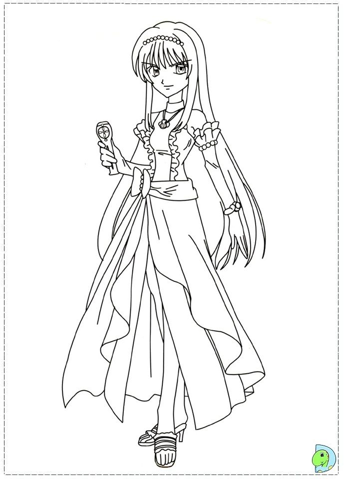 Mermaid Melody Coloring Page - Coloring Home