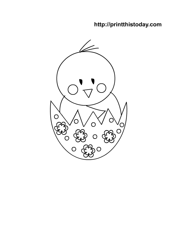 Easter Coloring Pages Printables | Print This Today