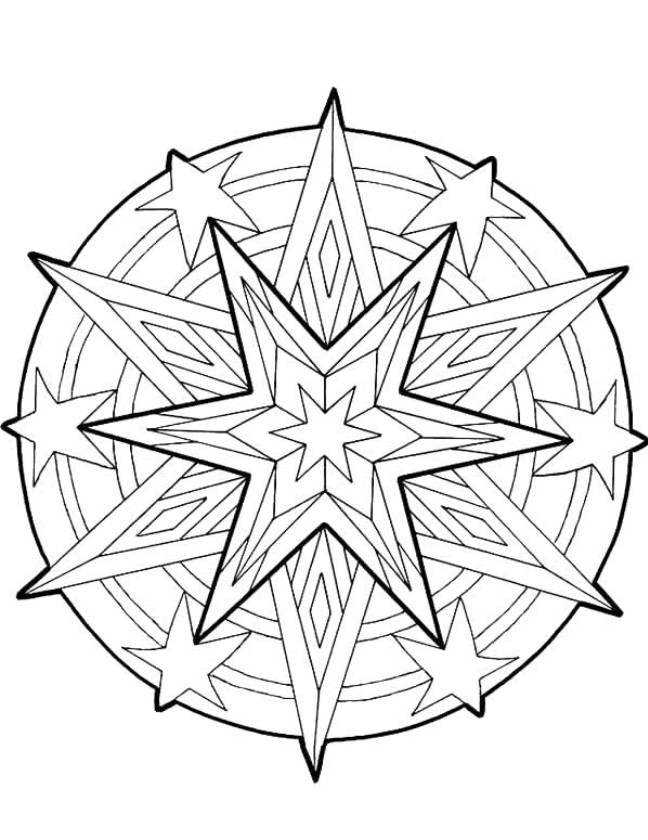 pattern coloring pages for teens - photo#11