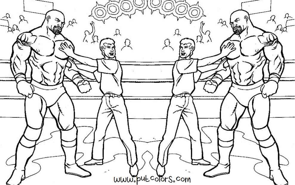 Wwe Coloring Pages Roman Reigns Coloring Home