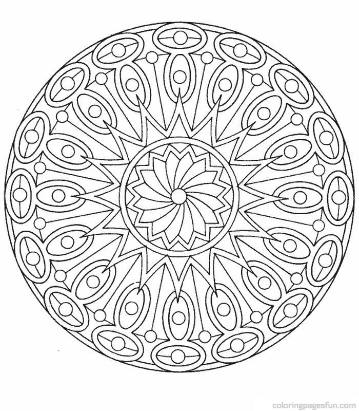 free coloring pages of mandalas - photo#15