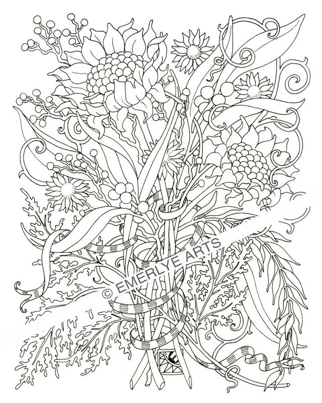 Color pages for adults - Coloring Pages & Pictures - IMAGIXS