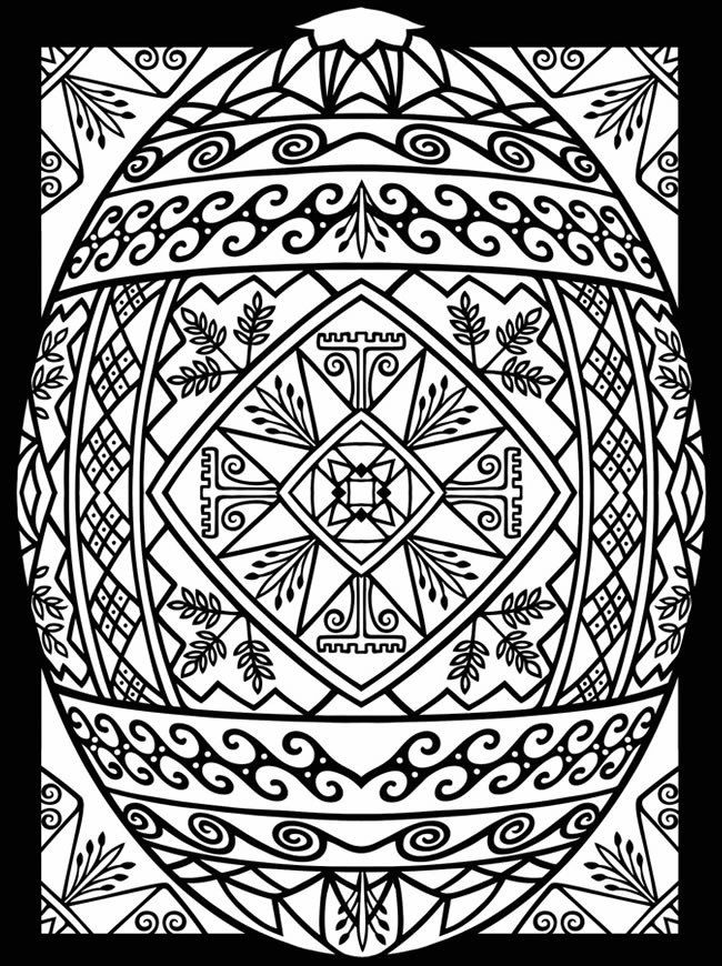 renaissance stained glass coloring pages - photo#27