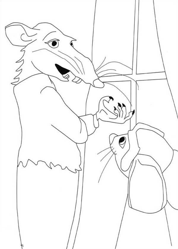 despereaux coloring pages - photo#16