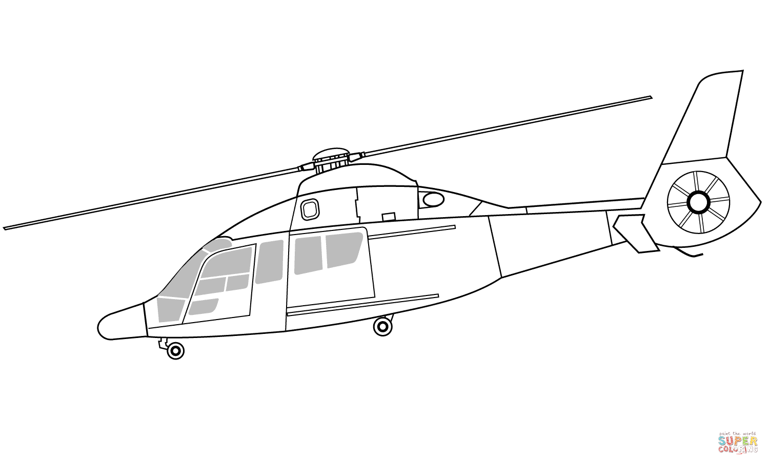 Kleurplaten Politiehelikopter.Police Helicopter Coloring Pages Coloring Home