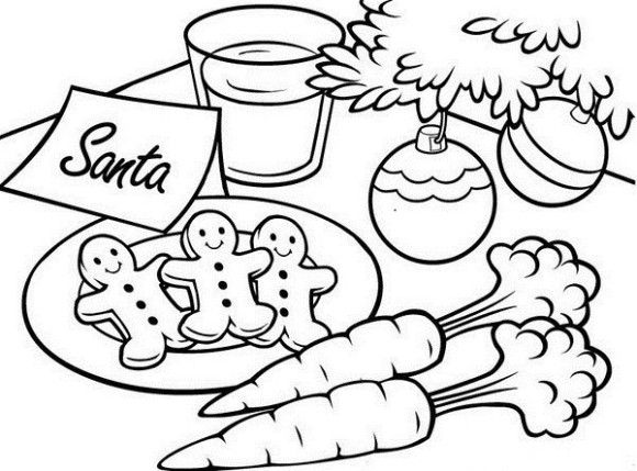 christmas coloring pages gingerbread man - photo #26