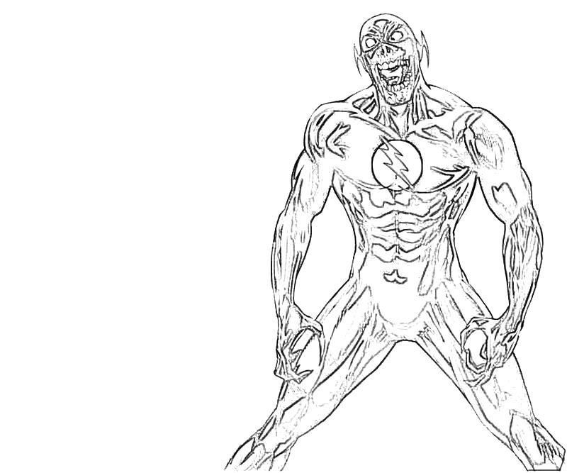 Flash Coloring Pages Coloring Home The Flash Coloring Pages