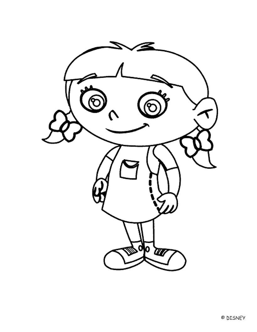 Little Orphan Annie Coloring Pages - Coloring Home