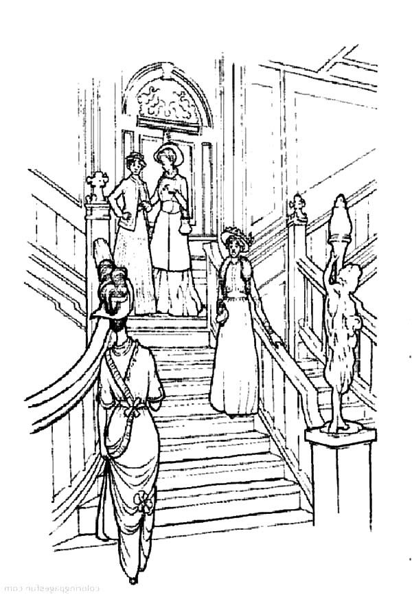 Titanic wreck pages coloring pages for Titanic coloring pages to print