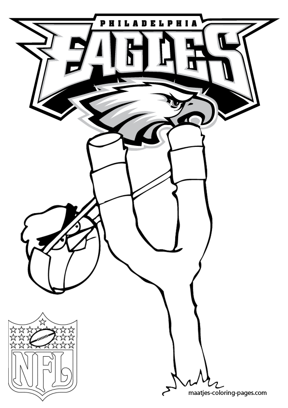 football coloring pages eagles hotel - photo#29