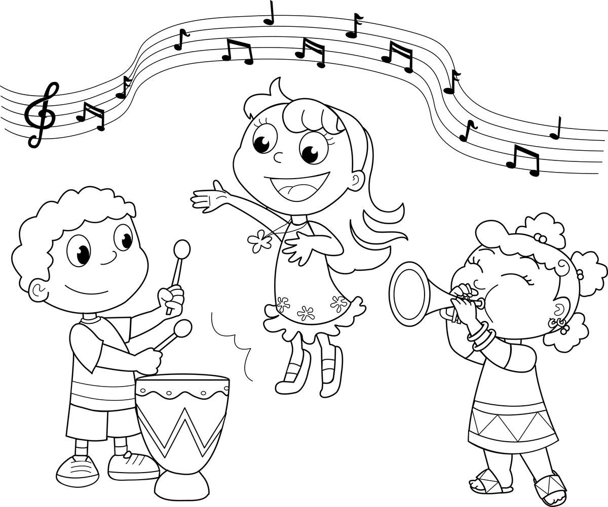 coloring pages music - music coloring pages free printable coloring home