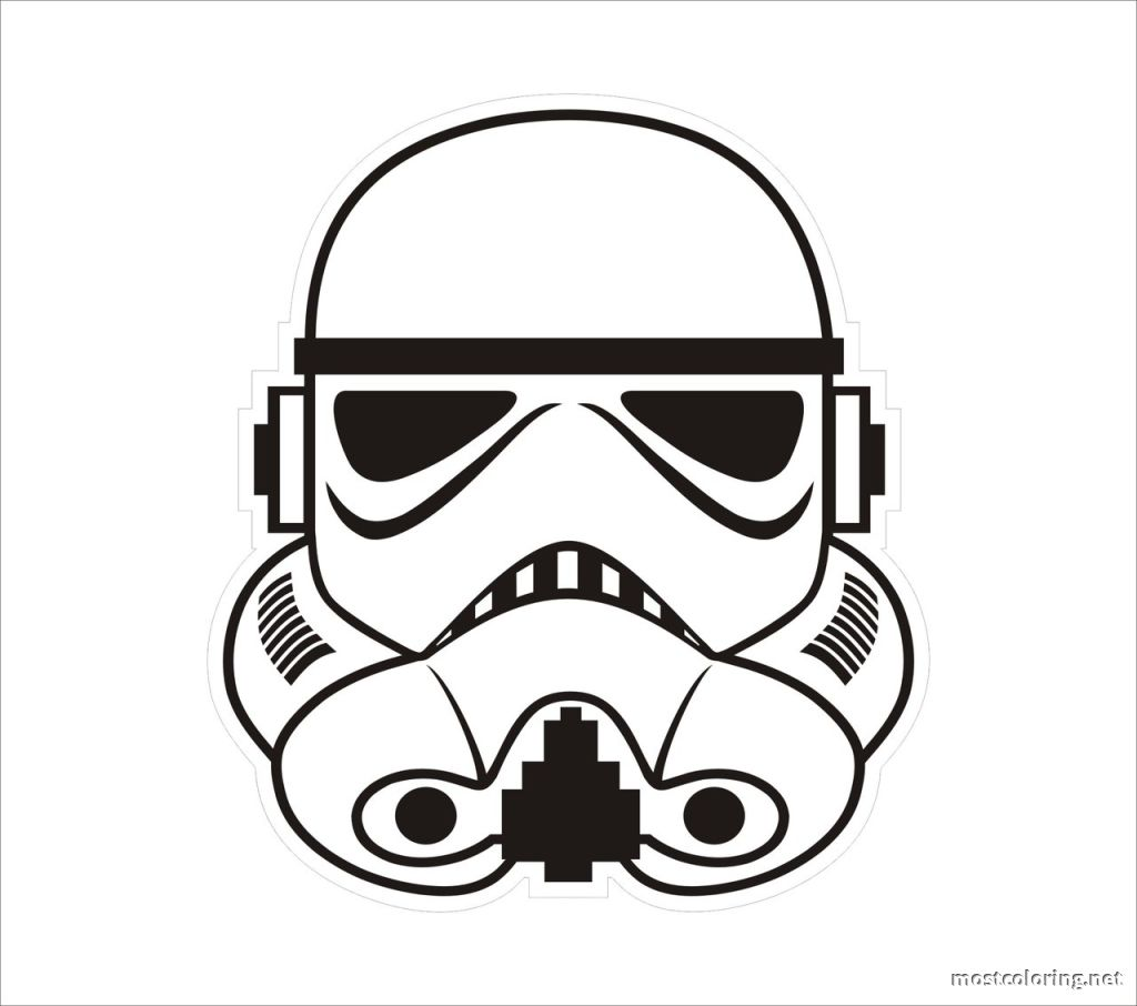 Stormtrooper Coloring Pages - Coloring Page