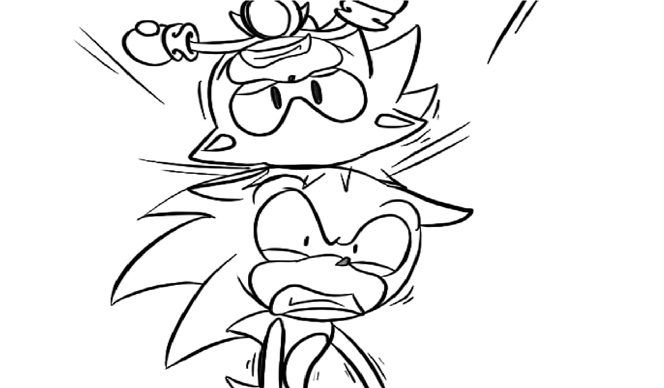 Classic Sonic Coloring Pages Coloring Home