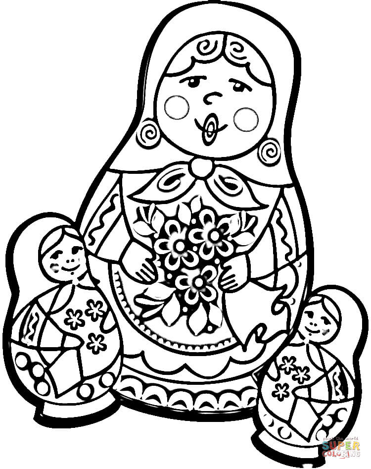 Russia coloring pages | Free Coloring Pages