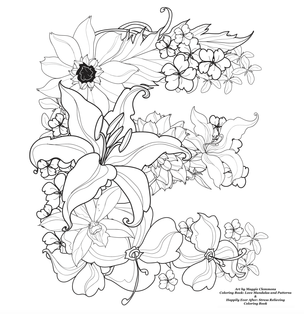 Free Coloring Pages From Maggie Clemmons – Adult Coloring Worldwide