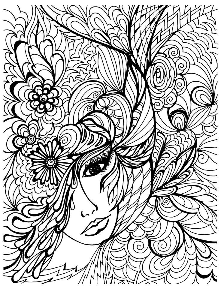 20 Free Coloring Sheets For Adults - Pa-g.co