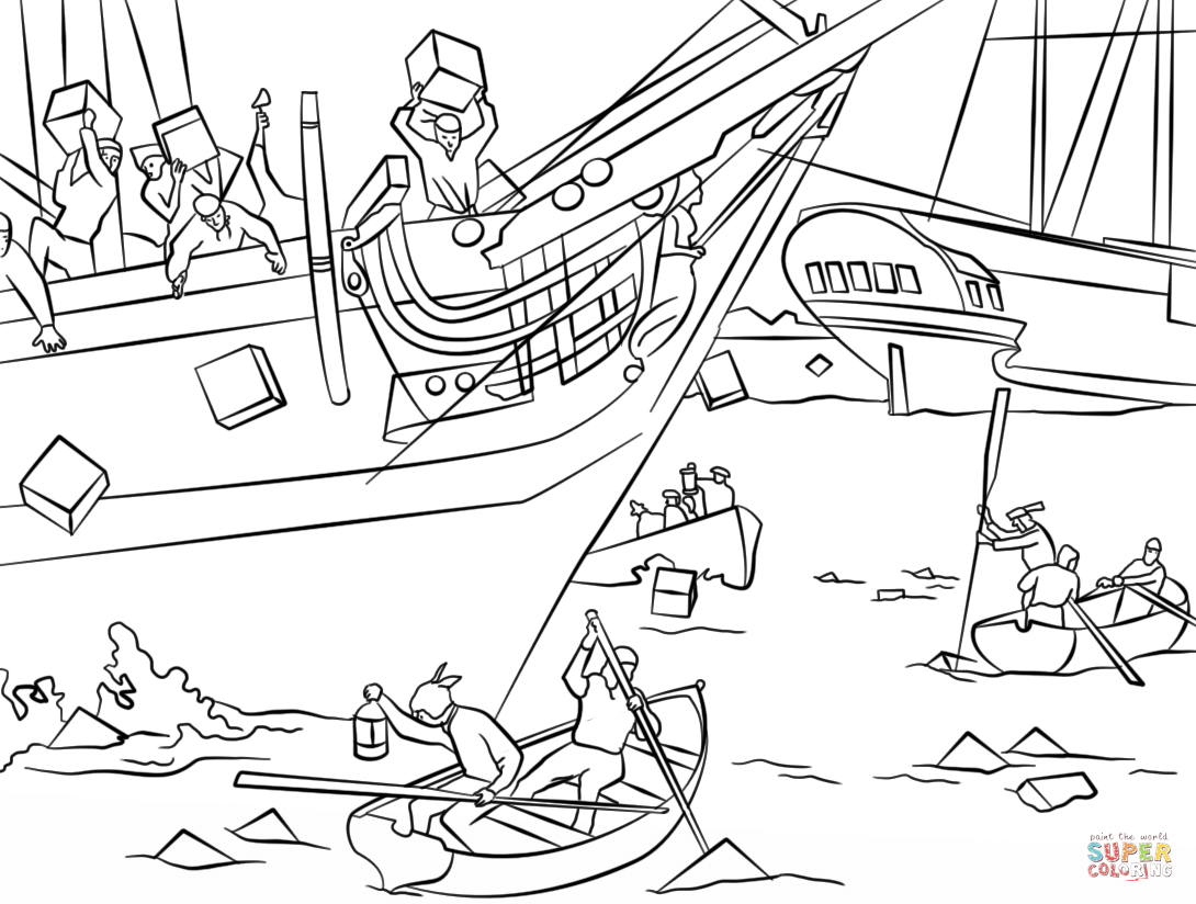 american revolution coloring pages printable - photo#36