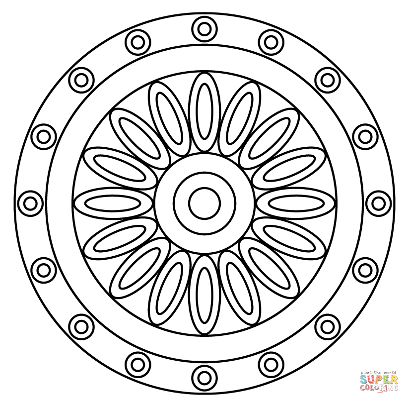 easy coloring pages green - photo#34
