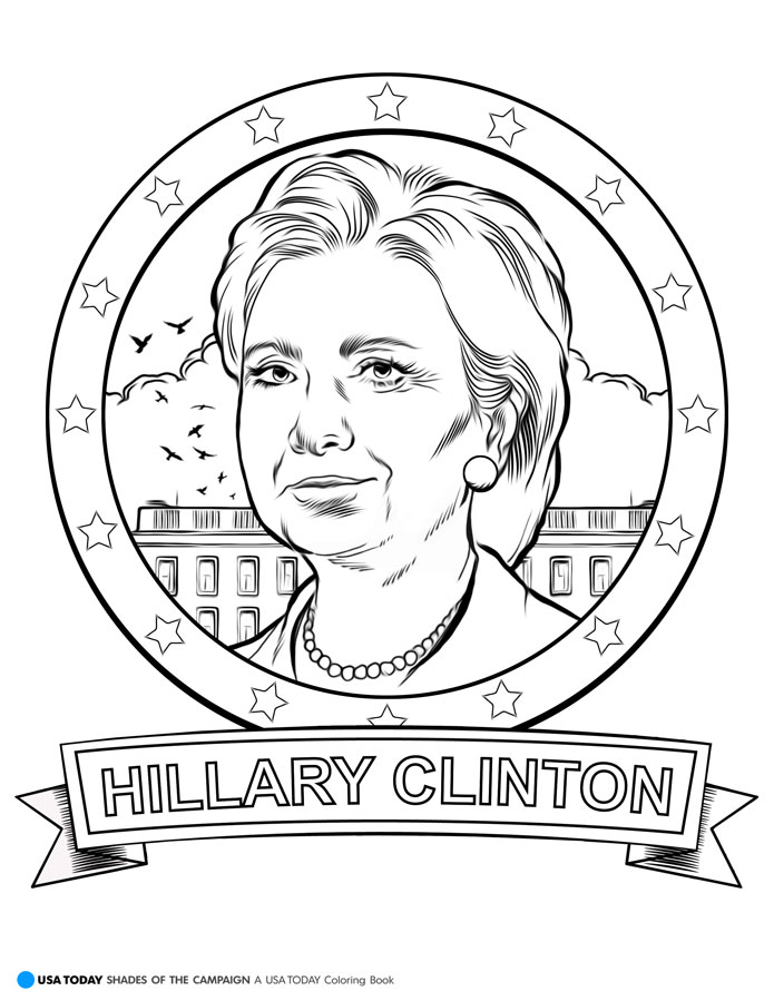 election coloring pages for kids - photo#27
