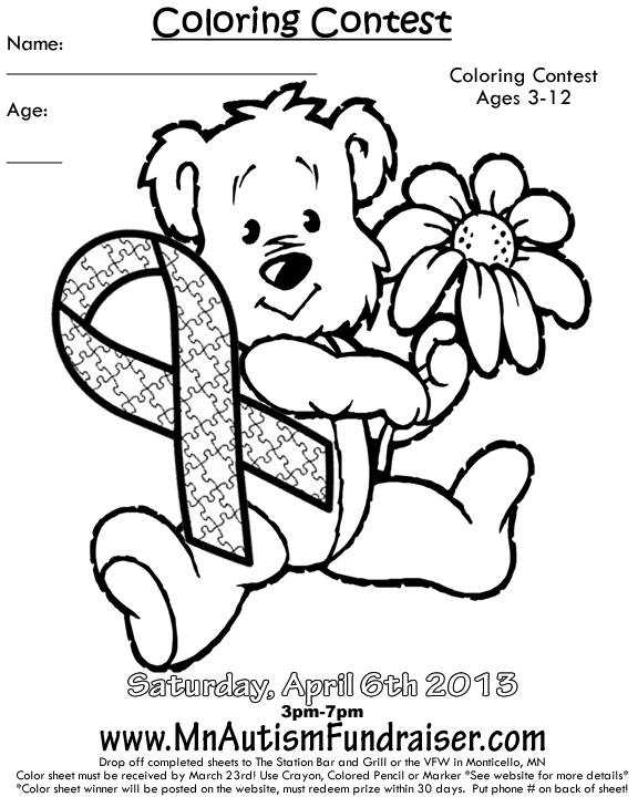 Coloring Contest Page - Coloring Home