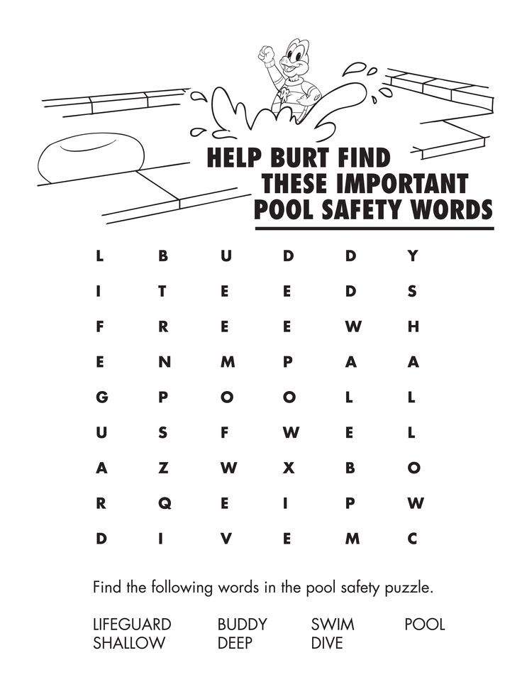 Printables Water Safety Worksheets water safety worksheets abitlikethis additionally word search worksheets