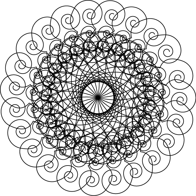free coloring pages fractals printable - photo#10