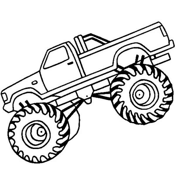Monster Mutt Monster Truck Coloring Pages Coloring Pages