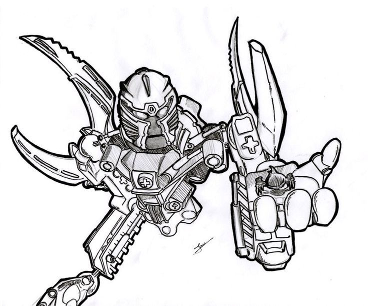 printable coloring pages bionicle - photo#34