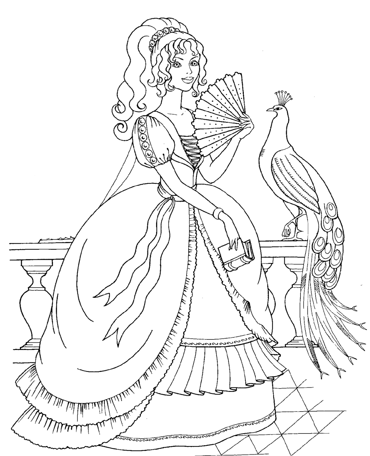 coloring pages for disney princesses coloring home