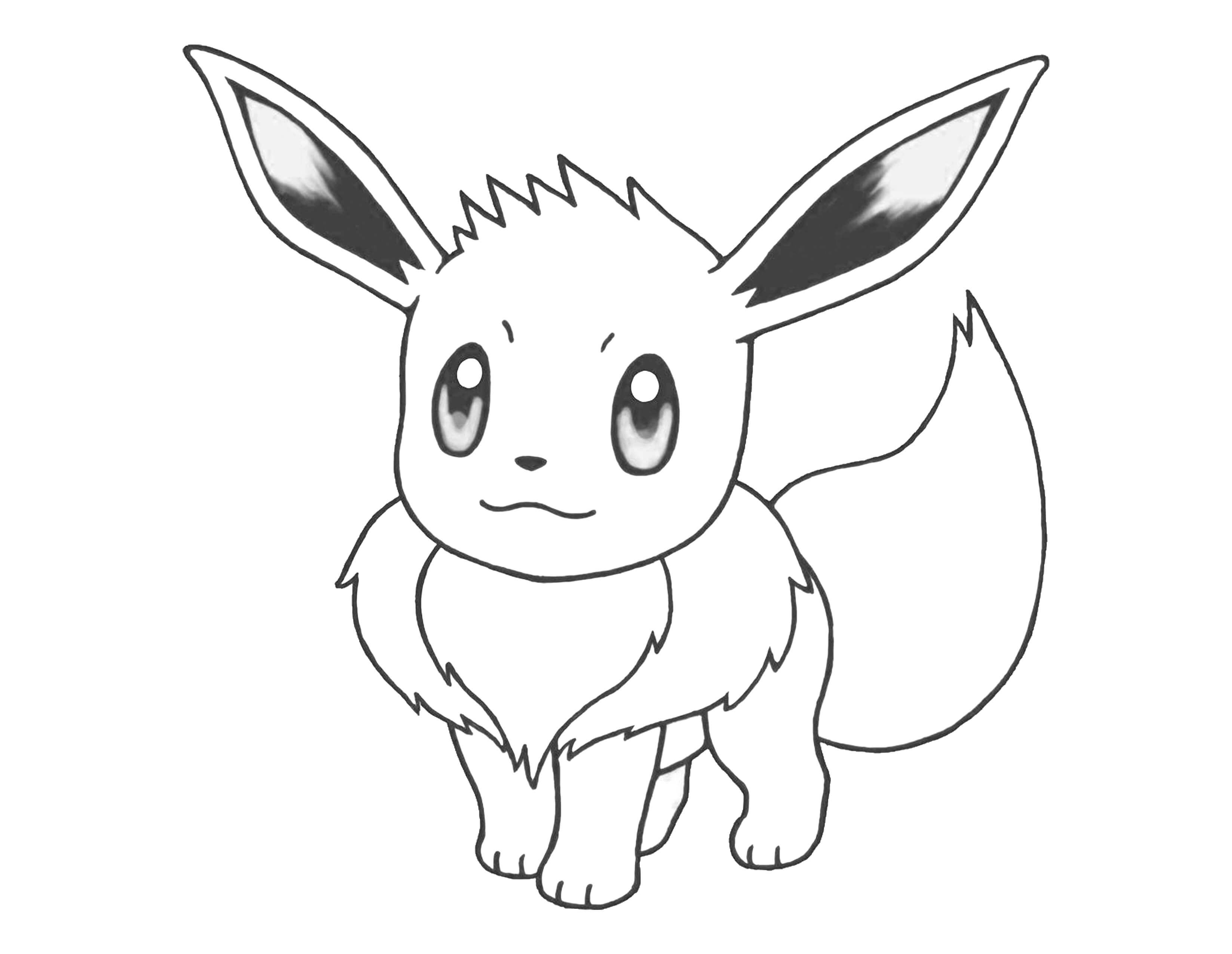 pokemon coloring pages【letter size】free - coloring-pages