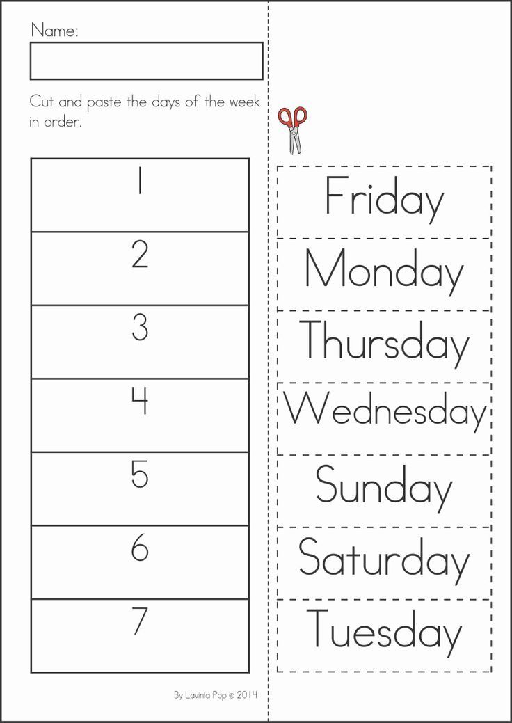 Days Of The Week Printable Coloring Pages AZ Coloring Pages
