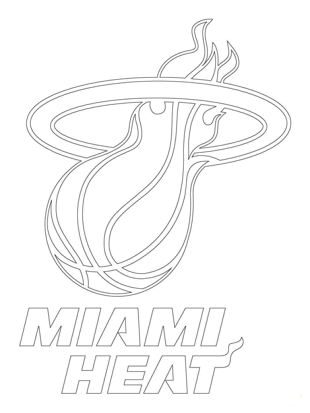 This is a picture of Miami Heat Printable Schedule for regular season