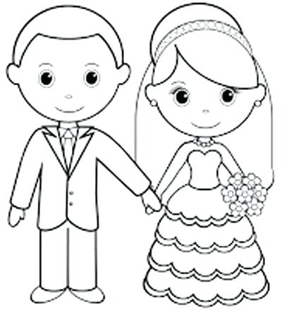 Wedding Coloring Pages For Kids - Coloring Home