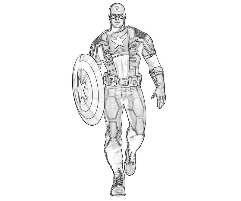 Avengers Coloring Pages For Kids
