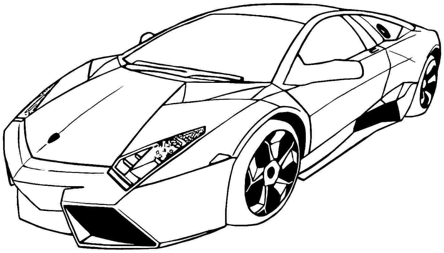 Printable Coloring Pages Of Sports Cars Coloring Home