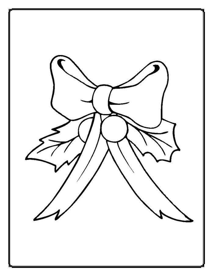holly leaves coloring pages - photo#18