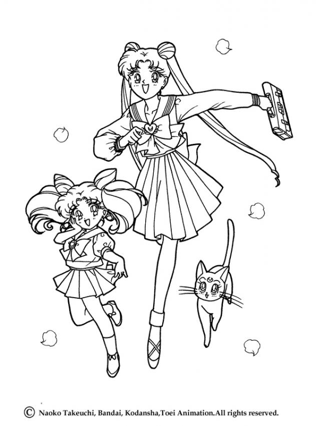 Sailor Moon Coloring Pages 82 Free Online Coloring Books