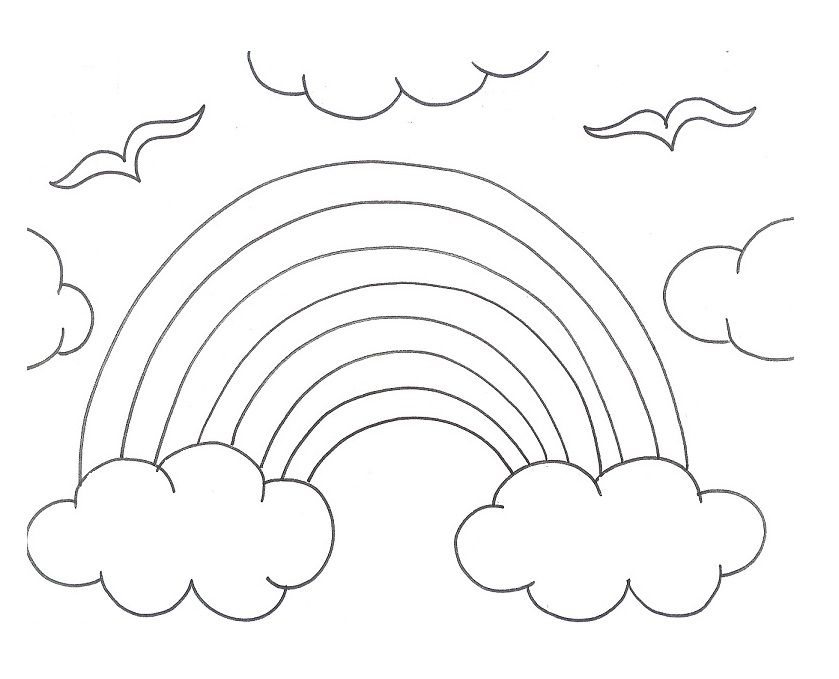Rainy Season Coloring Pages | Free Coloring Pages
