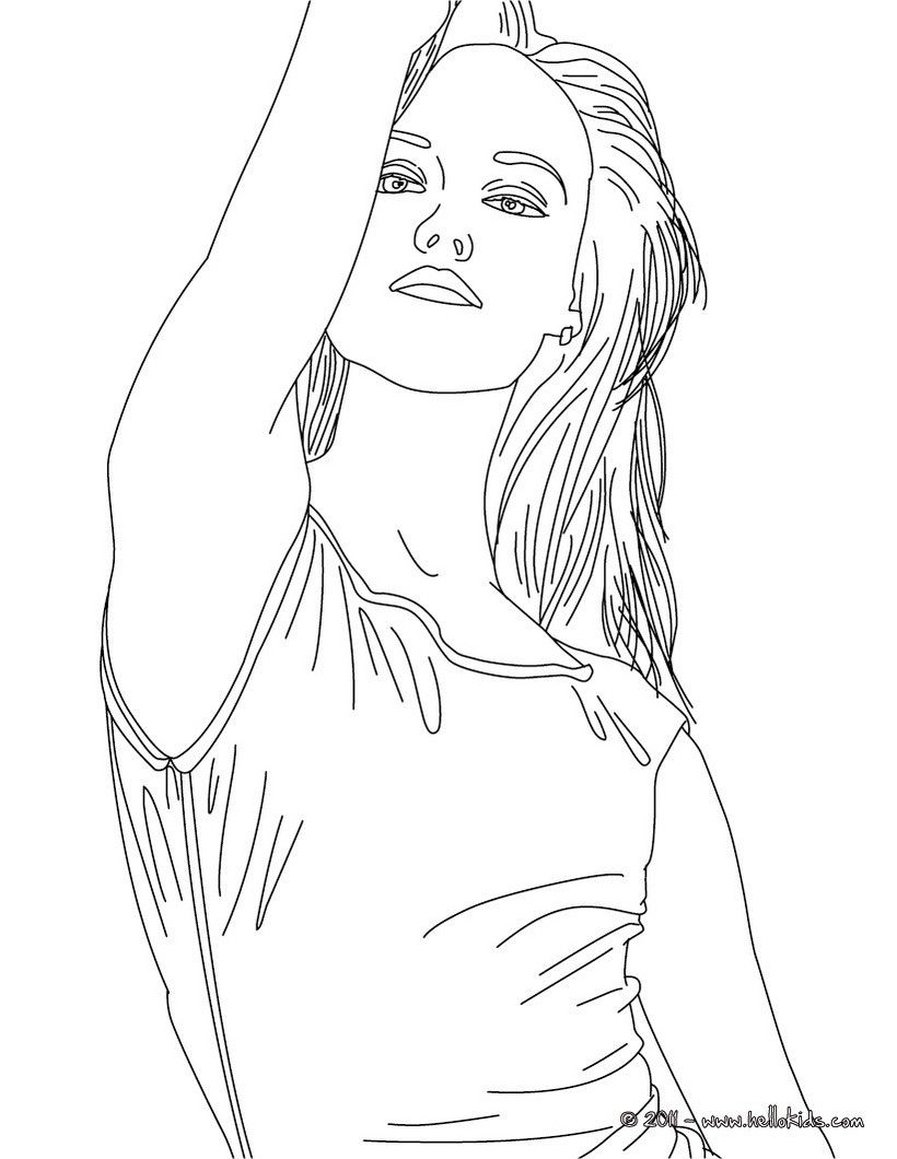 Singer Coloring Page For Kids Coloring Home Singer Coloring Pages
