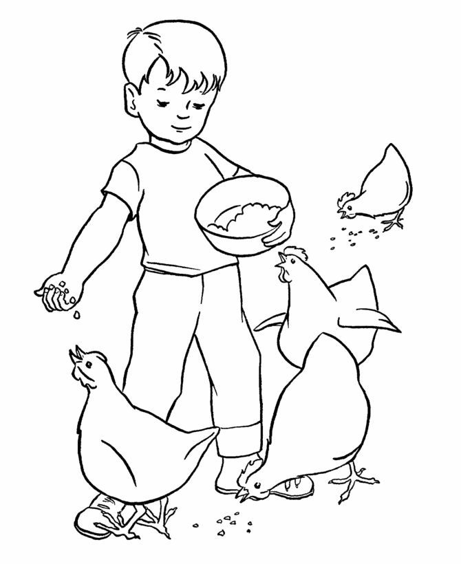 coloring pages kids chores by age | Coloring Pages, Kids Doing Chores - Coloring Home