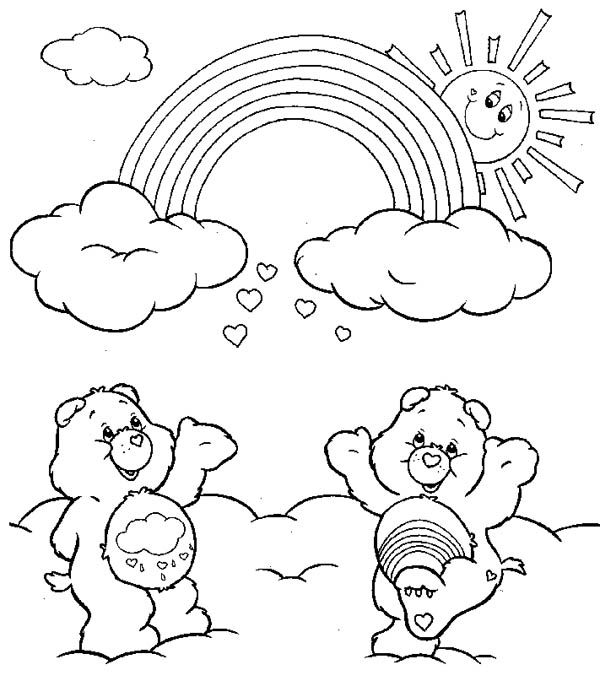 Rainbow Coloring Pages Pdf : Rainbow coloring pages bestofcoloring home