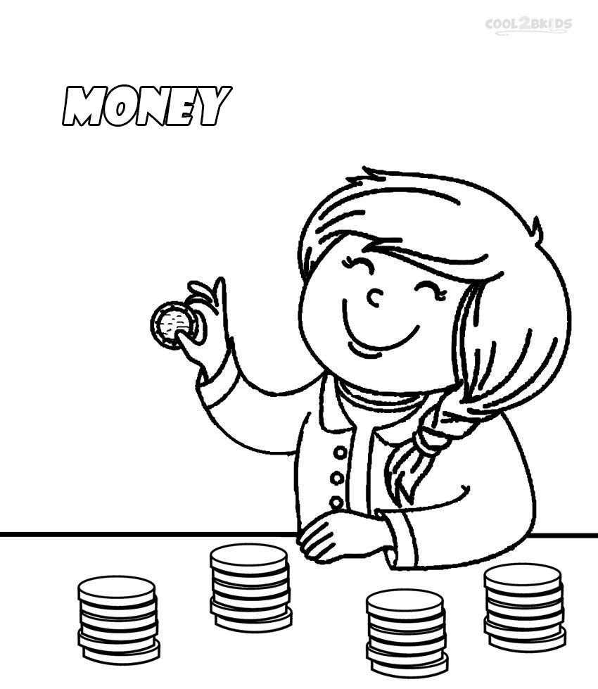 Adult Top Coloring Pages Of Money Gallery Images top money color pages az coloring printable for kids cool2bkids gallery images