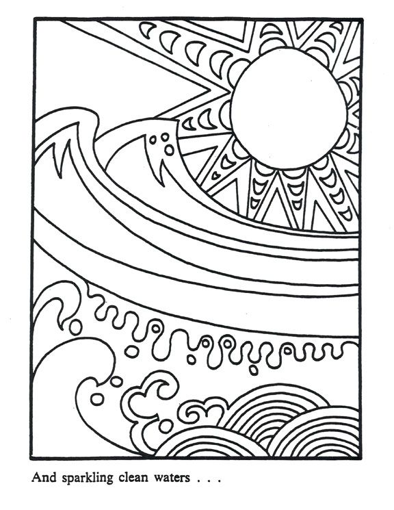 environmental coloring pages - photo#3