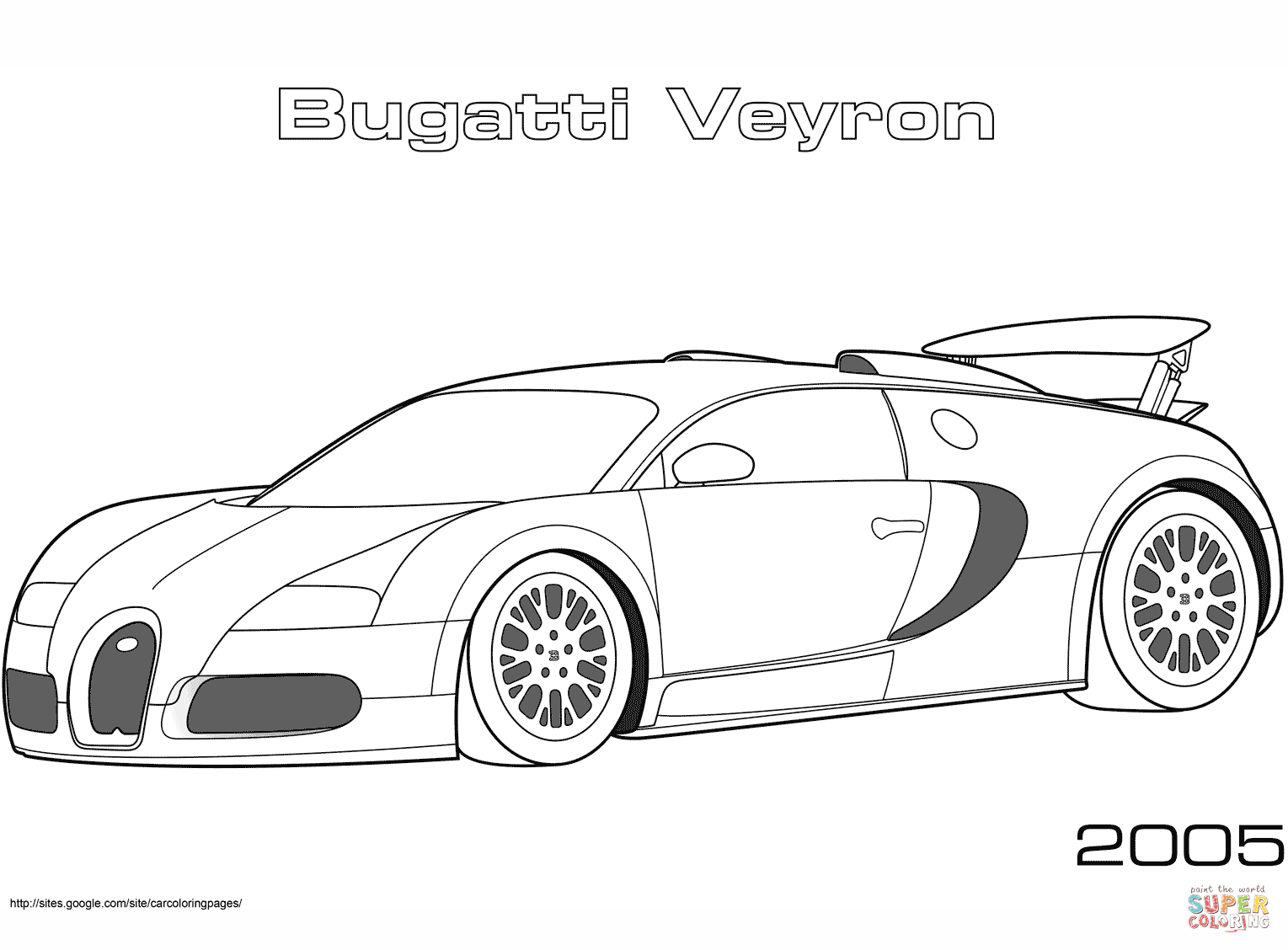 Supercars coloring pages | Free Coloring Pages
