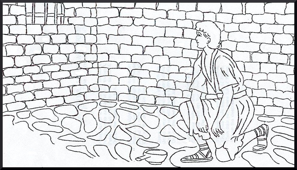 Best Photos Of Joseph In Prison Coloring Page