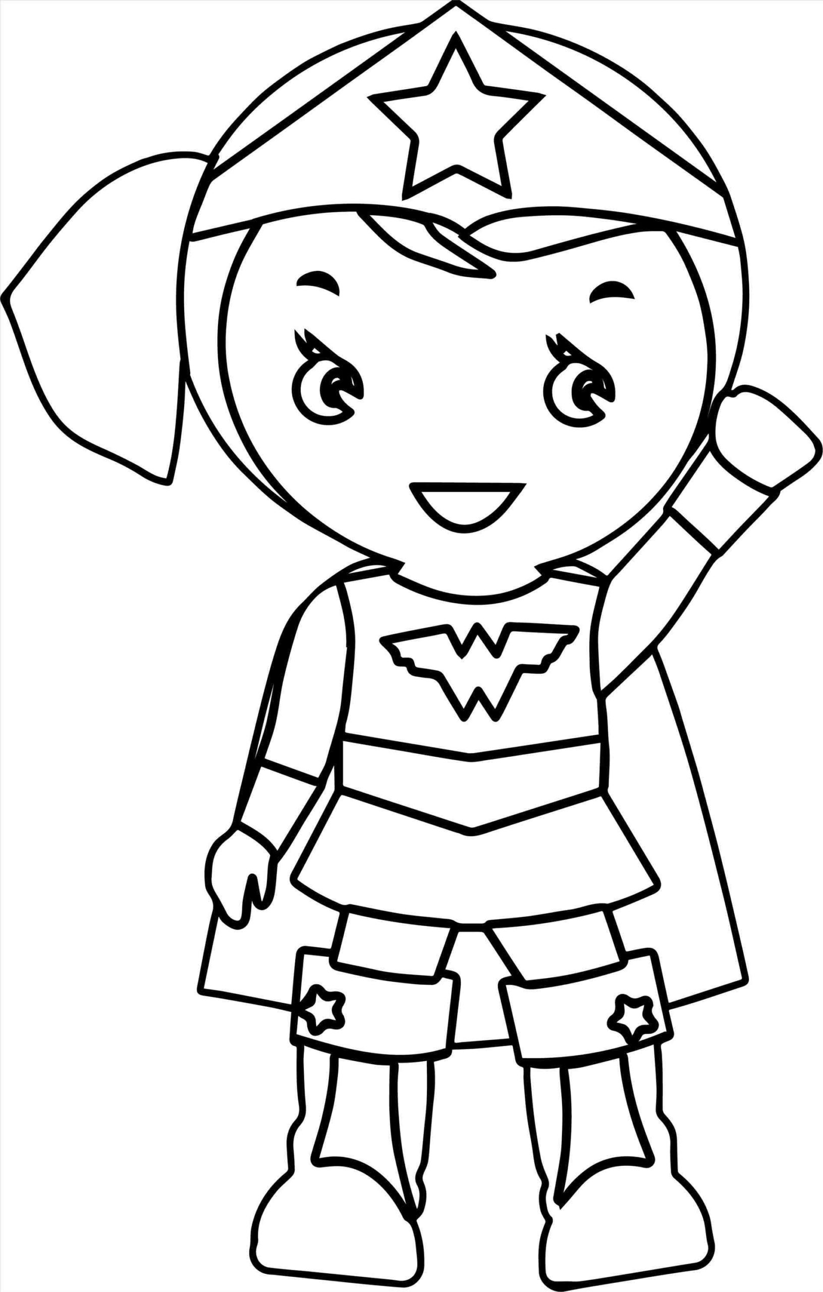 Wonder Women Coloring Pages - Coloring Home