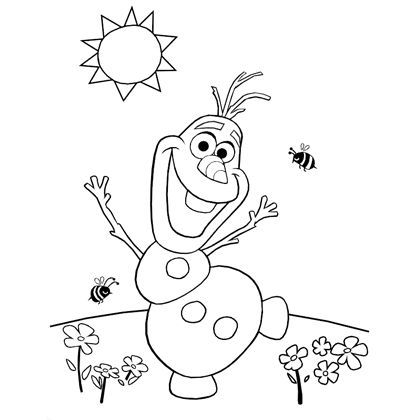 Frozen Coloring Pages Pdf - Coloring Home