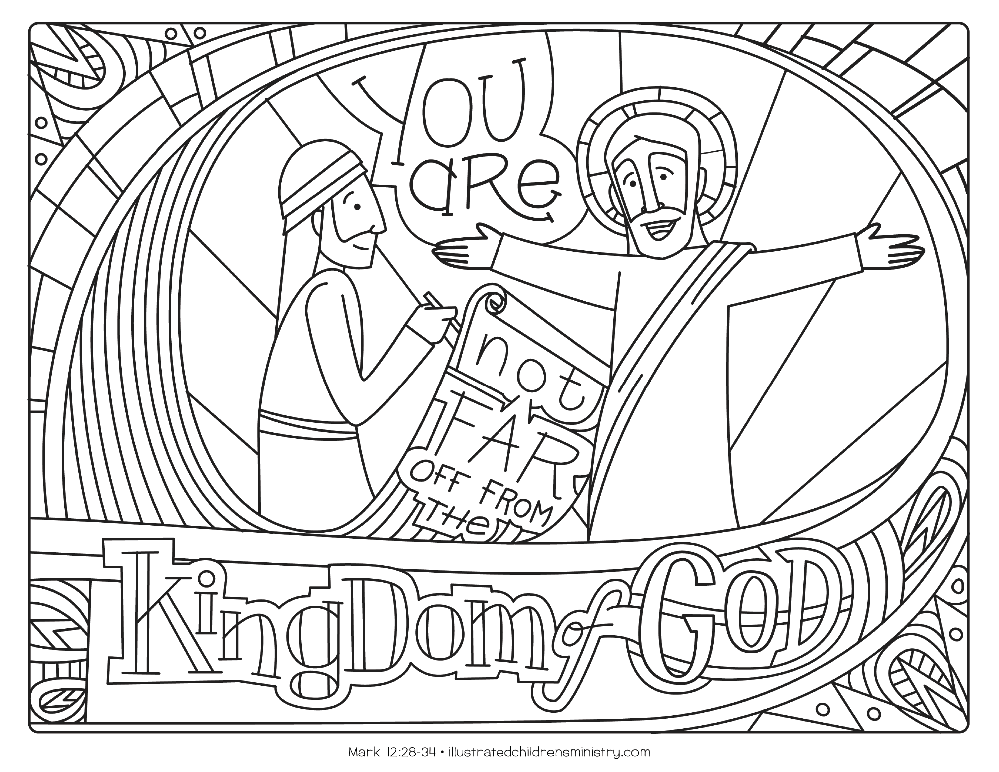 Bible Story Coloring Pages: Fall 2018 - Illustrated Ministry