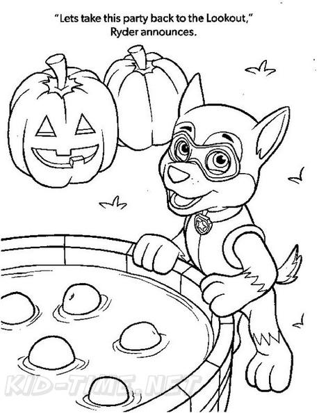 Paw Patrol Halloween Coloring Book Free Printables Solid Fun Worksheet Answers Math Paw Patrol Halloween Coloring