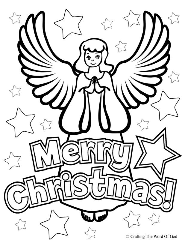 christmas angels coloring page - coloring home - Coloring Pages Angels Kids